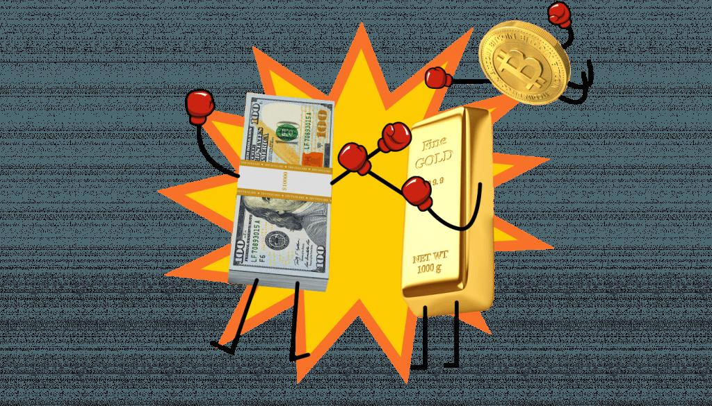 Thị trường vàng: Bộ 3 anh em siêu nhân: Lãi suất, Đô la và Vàng 2
