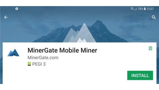 Cài minergate để đào ETH
