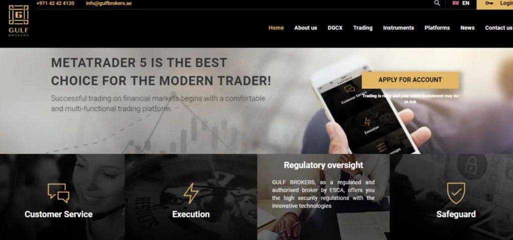 Tổng quan về Gulf Brokers