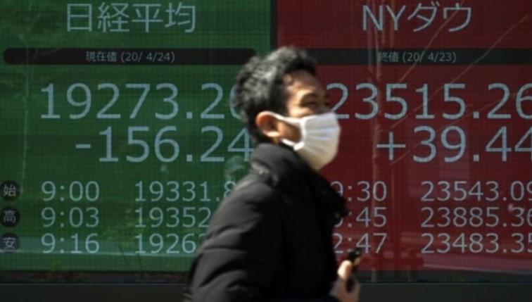 Cổ phiếu toàn cầu sụt giảm giữa những quan ngại về virus