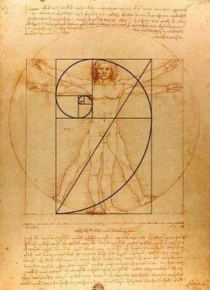 Fibonacci_Vitruvian Man