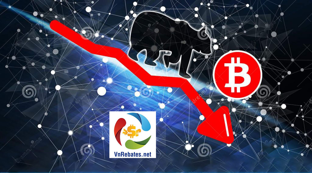 biểu đồ giá bitcoin - bearish