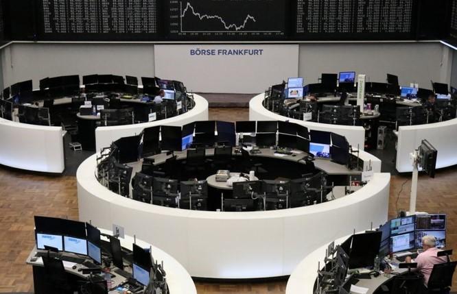Dữ liệu kinh tế Đức giúp chứng khoán Châu Âu tăng điểm
