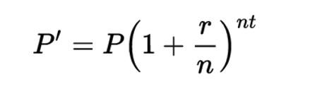 Công thức tính lãi suất kép
