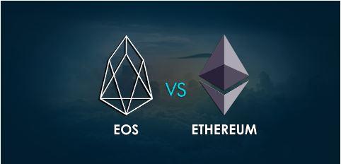 So sánh EOS và Ethereum