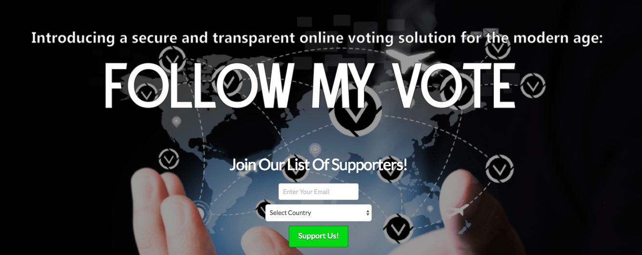 Smart contract-follow-my-vote