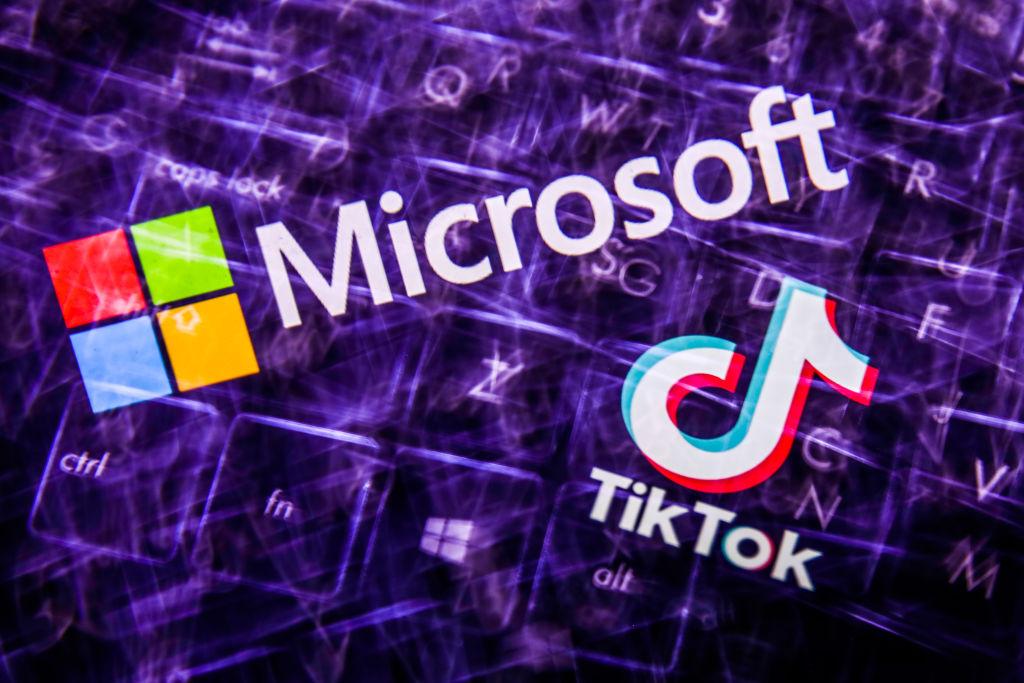 Microsoft có thể mua lại Tiktok