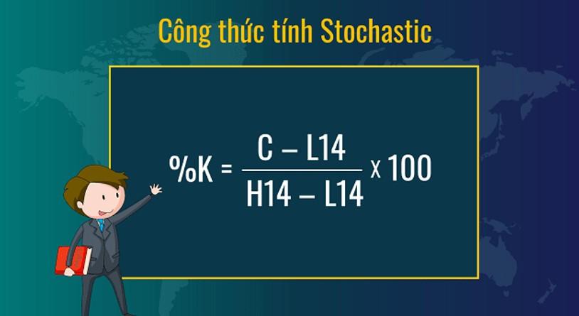 Công thức tính Chỉ báo Stochastic Oscillator