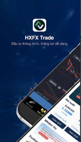 Ứng dụng giao dịch HXFX Trade