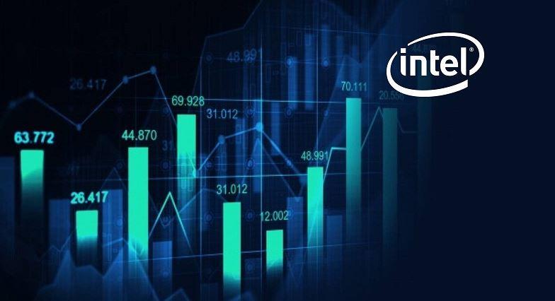 cổ phiếu Intel.