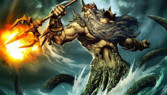 Andrew's pitchfork có 3 tia được tạo ra như cây đinh ba của vị thần cai quản biển cả theo truyền thuyết Hi LạpPoisedon