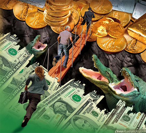 Vàng - kênh đầu tư an toàn hay rủi ro tiềm ẩn