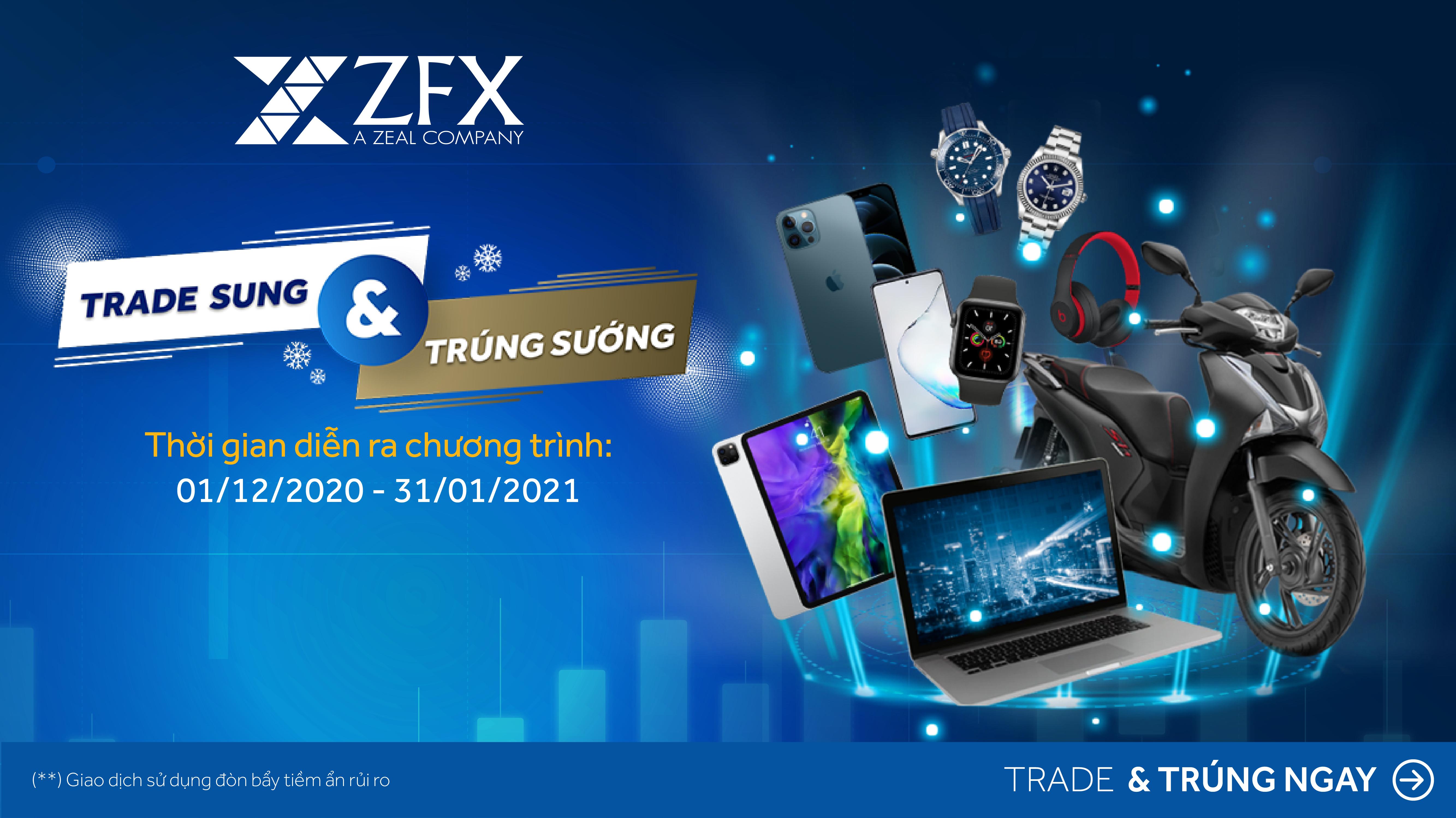 Trade càng Sung, Trúng càng Sướng với các phần quả với tổng trị giá lên đến hàng ngàn USD