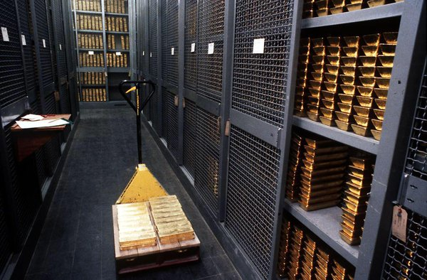 Nơi cất giữ vàng của Thụy Sĩ
