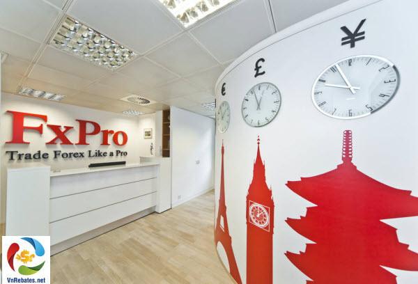 FxPro giới thiệu tài khoản MT4 với lệnh thị trường và Spread thấp hơn trước