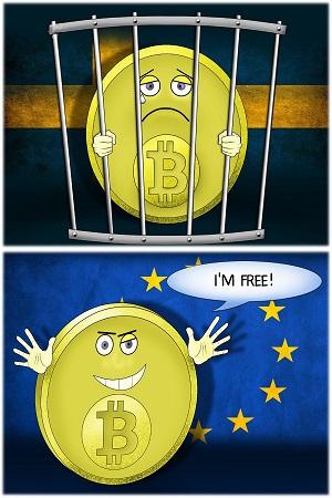 Tòa án cấp cao EU cho rằng trao đổi Bitcoin nên được miễn thuế