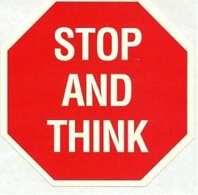 Dừng lại và suy nghĩ