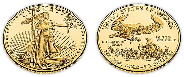 Đồng tiền vàng Eagle của Mỹ được Quốc hội công nhận, rất tiện lợi cho nhà đầu tư bởi vì nó thêm vàng vào danh mục đầu tư của mỗi người một cách hiệu quả